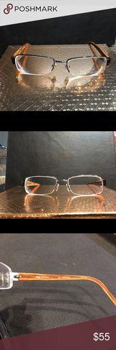 D&G 5018 Optical Eyeglasses Frame Preowned – Half Rimless/Rectangular Metal Fram… – My Posh Closet