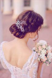 Brautfrisur Halb Offen