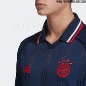 Official Pictures: Adidas Bayern München 19-20 Icon Long Sleeve Retro Jersey Le… – e sport logo and theme