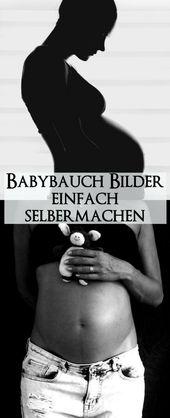 Bilder vom Schwangerschaftsbauch einfach selber machen – Ideen und Umsetzung – kleinliebchen