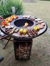 Photo of 75 fire pit ideas and distortions for our backyard | kevoin.com #fire pit #feuer…