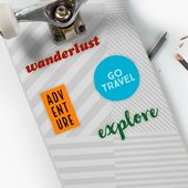 'Travel Sticker Pack' Sticker by BrightNomad – Gifts for Travellers / Travel Gift