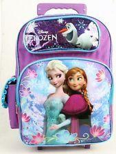 "Disney Princess Frozen Elsa Anna 16/"" Rolling backpack /& Lunch Box NEW Licensed"