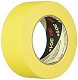 3m 301 48 301 Yellow Masking Or Painters Tape 48 Mm Width Painters Tape Tape Gold Box