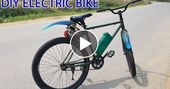 DIY Electrical Bike At Dwelling – VIRAL CHOP VIDEO