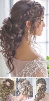 17+ Ideas for wedding hairstyles for bridesmaids brunette low buns