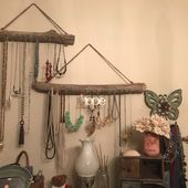 Driftwood Jewelry Organizer Made to Order Jewelry Hangers   Etsy