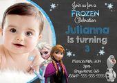 Frozen Birthday Invitations Asda
