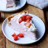 No-Bake Erdbeer-Frischkäsekuchen Rezept