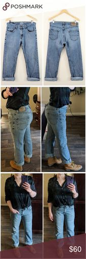 Vintage Signature Levi's Relaxed Boyfriend Jeans Signature by Levi Strauss &…
