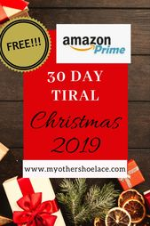 Free Amazon Prime Just In Time For Christmas 2019 Order Online