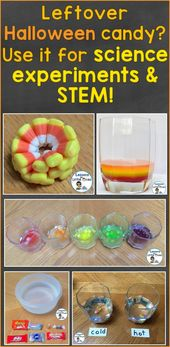 Halloween Candy Science Experiments 2