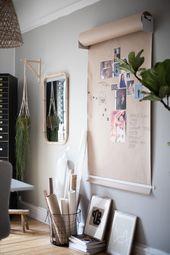 In Malmö, Gen's Inspiring Home Office / Guest…