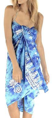 Womens Plus Size Sarong Swimsuit Cover Up Beach Wrap Skirt Sarong Wraps for Women Large Maxi EI