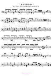 Drums Grooves und Fill-ins im Wechsel; kostenlose Noten – Tom jones