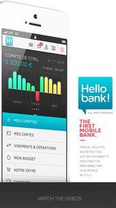 Hello Bank Iphone User Interface By Thomas Ciszewski Iphone Apps App Iphone