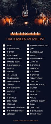 The Perfect Halloween Night In + Ultimate Halloween Movie List