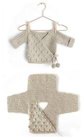 Kimono Jacke – kostenlose Anleitung (Beautiful Skills – Crochet Knitting Quilting)   – Stricken