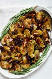 Balsamic Honey Roasted Brussels Sprouts – Enjoy a nutrient-rich side dish with t…   – Roasted brussels sprouts