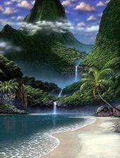 Waterfall Beach est situé dans le parc national de William Bay, au Danemark, en Australie occidentale