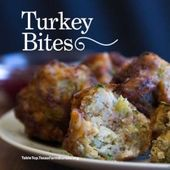 Deep-fried Turkey Bites. These balls of turkey, leftover stuffing or dressing an…