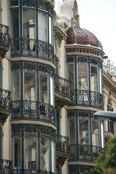 Barcelona – Jugendstil. Ich würde eine Balkonecke wie diese schätzen