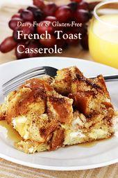 Cinnamon Raisin French Toast Casserole