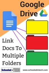 Google Drive: Put Same File In Multiple Folders; Add To Drive vs Make A Copy