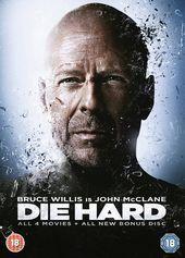Die Hard Quadrilogy Die Hard Die Hard 2 Die Hard With A Vengence Die Hard 4 0 5 Dvd Edizione Regno Unito Reino Unido A Bruce Willis Filme Stirb Langsam