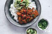 Gochujang Glazed Tempeh | Vegan Miam