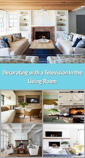 Photo of Dekorieren mit einem Fernseher im Wohnzimmer – Muskoka Living Wenn Sie …