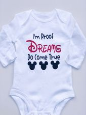 Minnie Mouse Onsie; Disney Onsie; baby; baby clothing; unisex baby; baby gift; Mickey Mouse