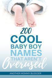 Baby Namen Junge Ungewohnlich Klicken Unterscheidend Namen