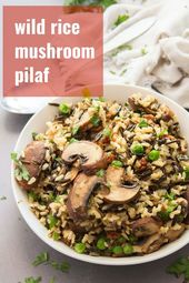 This hearty wild rice pilaf is perfect for every occasion, from holiday dinners …