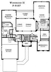Sun City Grand Windrose Ii Floor Plan Del Webb Sun City Grand Floor Plan Model Home House Plans Floorplans Models In Surprise Floor Plans Sun City House Plans