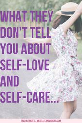 Was sie dir nicht über Selbstliebe und Selbstsorge erzählen … – Soul