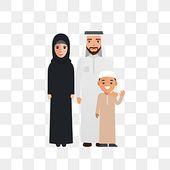 الأسرة المسلمة الكرتون ناقلات أسرة النخيل اللون عرب Png والمتجهات للتحميل مجانا In 2021 Cartoons Vector Family Cartoon Arabic Characters