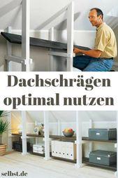 Kniestockregal | selbst.de
