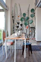 常に部屋を作る大きな、大胆な要素   – Designer wallpapers