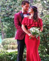 """Eventuellt perfekt på Instagram: """"Alla röda allt i februari. Förälskad i den här röda bröllopsklänningen. . . . #eventfullyperfekt #wpic #wpicc # wpicalumni … """""""