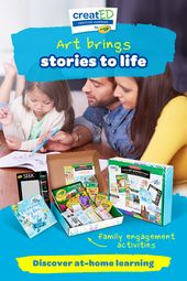 Art brings stories to life #cantaps creatED by Crayola makes at-home learning fu… – Can