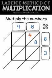 Lattice Method Of Multiplication Video Lattice Method Lattice Method Of Multiplication Multiplication