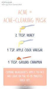 #acnetreatmentthatworks #homemade #clear #face #mask