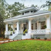 60 Rustic Farmhouse Front Porch Decorating Ideas