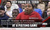 Lil Terio: Bei einem Kolbenspiel! – weheartnyknicks.c …   – Demetrio memes