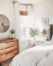 Kleine Schlafzimmerideen: Vorhänge sind der letzte Schliff, der Ihrer Wohnung