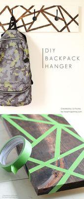 Legend DIY backpack hanger #deko #decoration #dekorationdiy #DIY #small