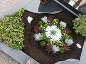 Was soll ich als Grabpflanze verwenden – Blumen gestecke