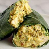 Curry Chicken Salad – Sandwiches