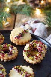 Pistazien-Cranberry-Kekse – Rezept – Sweets & Lifestyle® – xmas
